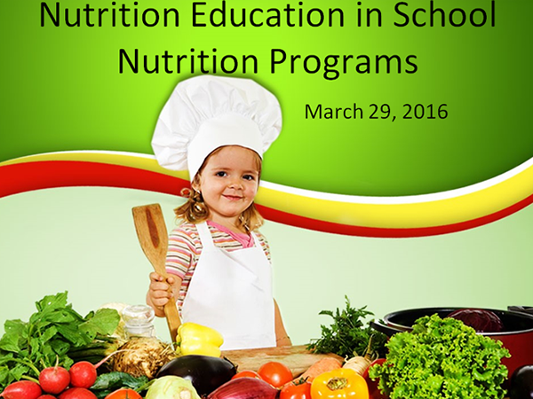 Nutrition in schools picture.